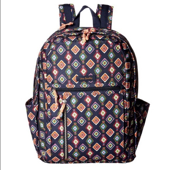 Vera Bradley Bags   Rolling Backpack Mini Medallion   Poshmark 2d3ea13992